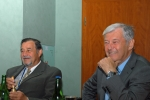 Chairmen of the conference Prof. Ing. Jiri KLIBER, CSc. and Prof. Ing. Miroslav KURSA, CSc.